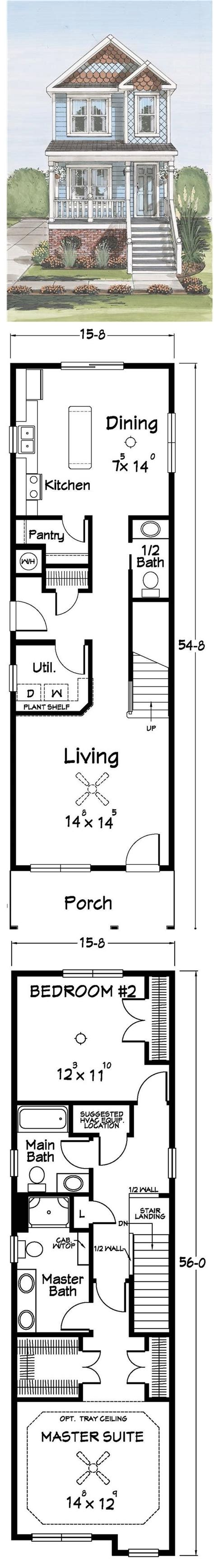 City Lot House Plans by House Plans For Narrow City Lots 28 Images Narrow City