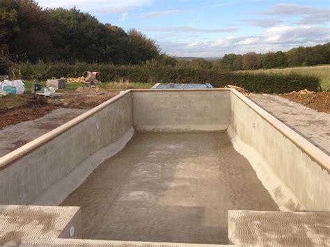 diy inground concrete pool diy concrete swimming pool backyard design ideas