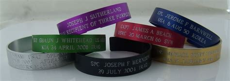 Custom Kia Bracelets by Custom Memorial Kia Bracelets Jewelry Flatheadlake3on3