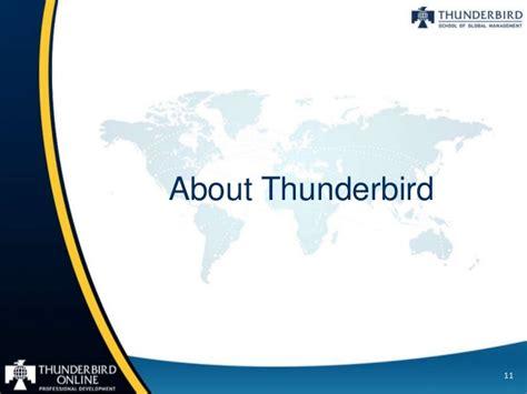 Thunderbird Mba Program by Thunderbird Gmat Toefl Preparation Programs