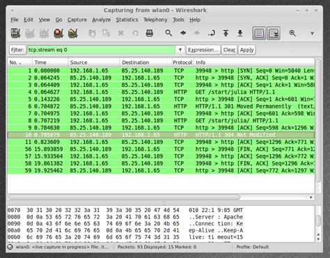 wireshark tutorial in linux wireshark linux mint community