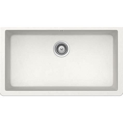 lavello sotto top lavello sottotop schock solido n100 xl monovasca bianco