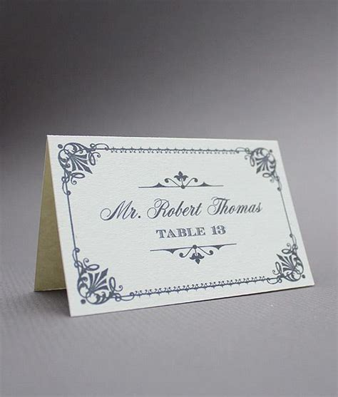 vintage place cards template diy vintage place cards from downloadandprint use for a