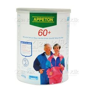 Appeton Weight Gain Di jual beli appeton weight gain dewasa 900g k24klik