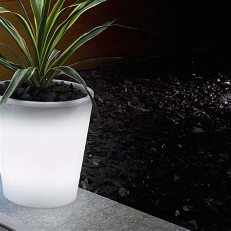 Hello Garden Light With Planter by Solar Powered Decorative Ideas To Light Up Your Yard