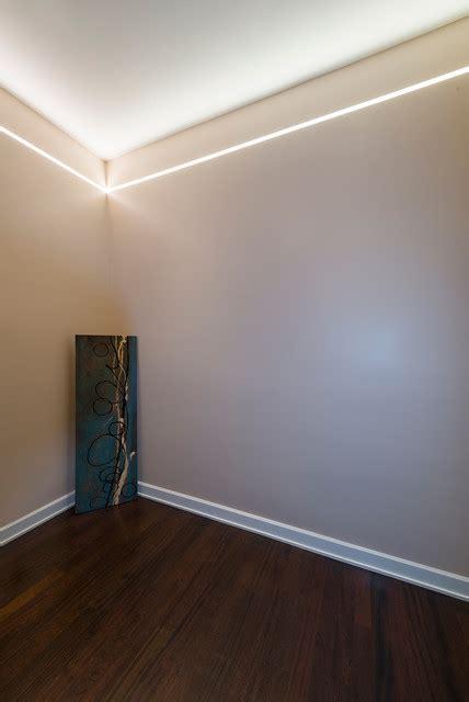 reveal plaster  linear led system  pure lighting