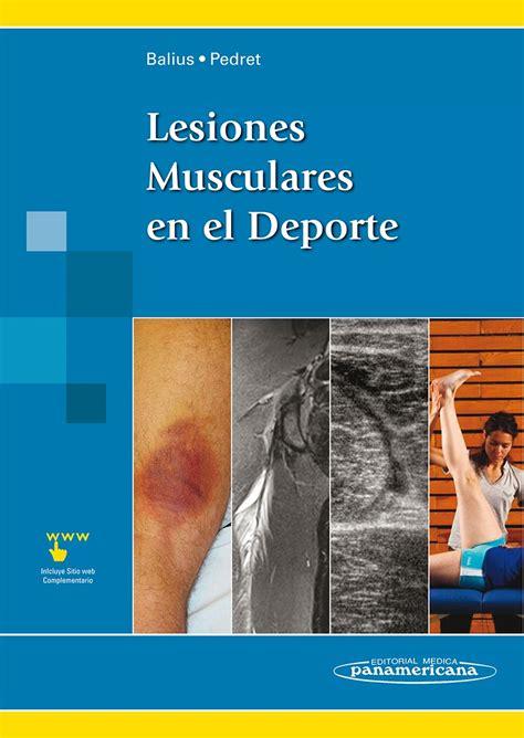 libros de fisioterapia deportiva pdf lesiones musculares en el deporte