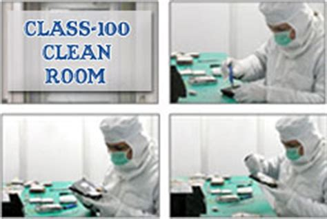 class 100 clean room stellar performs drive repair standard class 100 clean room environment stellar