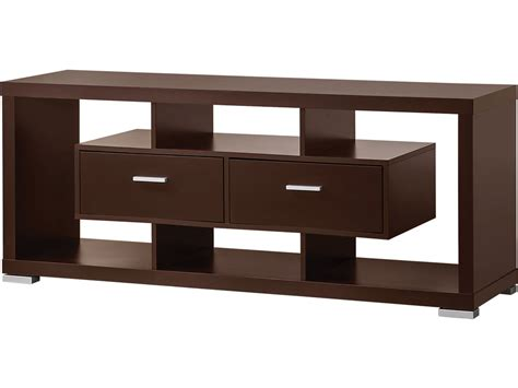 console living room coaster living room tv console 700112 simply discount