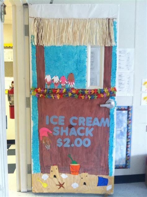 summer classroom decorating ideas piccry com picture ice cream stand summer door classroom door decorating