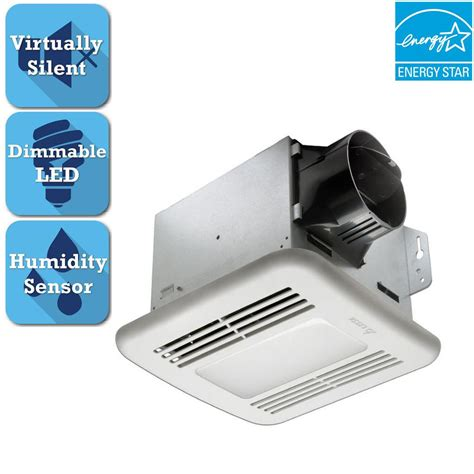 100 cfm bathroom fan with light 100 cfm ceiling exhaust fan with light and heater qt9093wh
