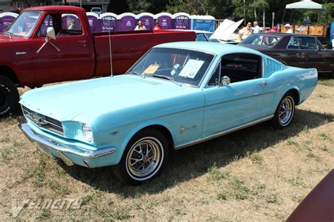 mustang facts 1965 ford mustang fastback facts