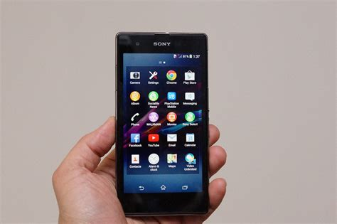 sony xperia zs review cnet