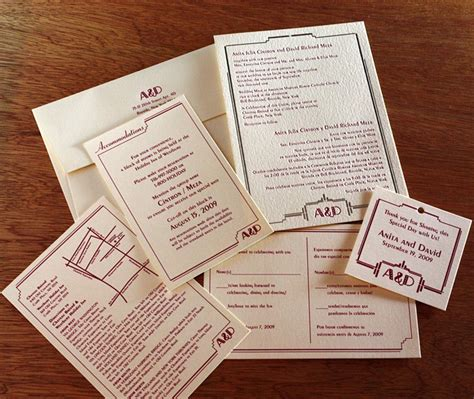 what should i include in my wedding invitations fall 2014 pantone color report sangria letterpress wedding invitation
