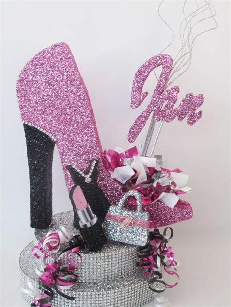high heel birthday decorations 17 best images about high heel shoe centerpiece on