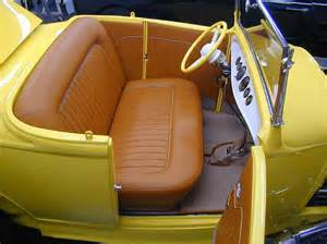 Leather Auto Upholstery by Custom Leather Upholstery