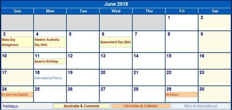 Calendar 2018 Canberra Calendar With Holidays Australia Foto 2017