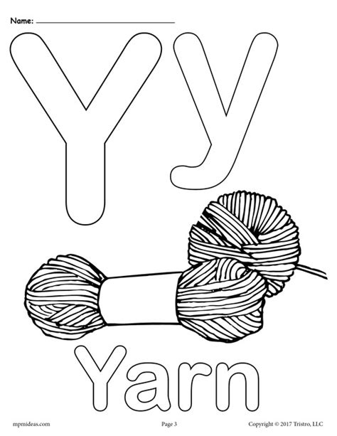 coloring pages for y free letter y coloring pages uppercase y lowercase y