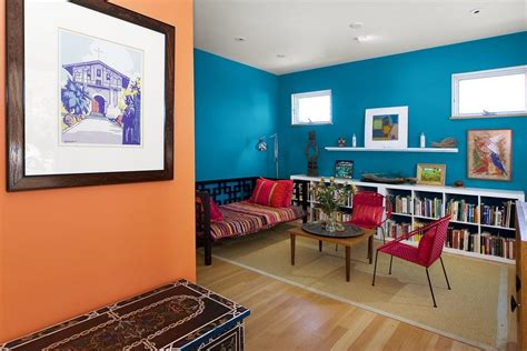complementary color scheme room split complementary rooms interior design ideas