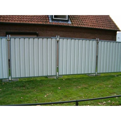 barriere mobili cloture mobile opaque blanche