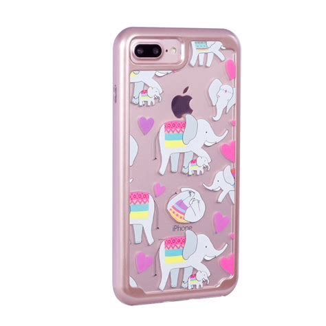 Tempered Glass And Painted Phone Iphone 6 Plus 001 1 for iphone 6s 7 plus painted bumper soft tpu rubber