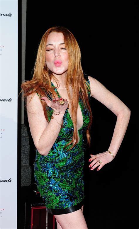 Hathaway Partied Like Lindsay Lohan by Mode Alessandra Ambrosio Scherzinger