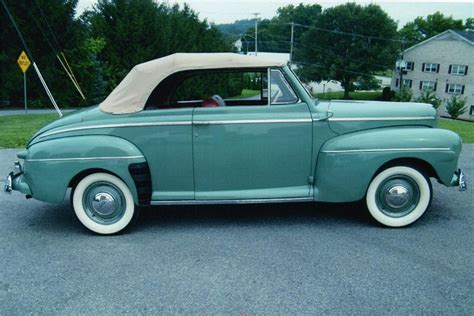 1942 FORD SUPER DELUXE CONVERTIBLE   81604