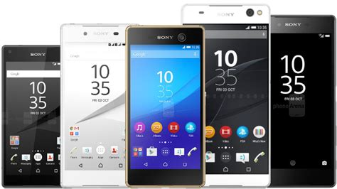 best sony mobile phone best sony smartphones you can buy right now may 2016