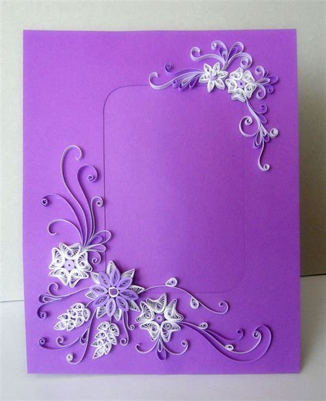 paper quilling frame tutorial easy paper quilling photo frame tutorial art craft ideas