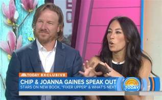 chip and joanna gaines address chip and joanna gaines talk quot fixer upper quot ending on today show