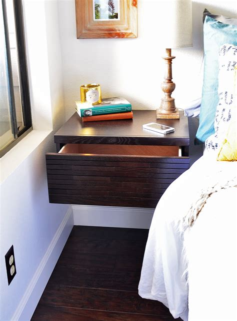 floating nightstand with drawer diy wall mounted drawer floating nightstand mayan espresso