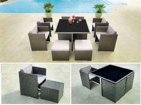 mesas y sillas exterior 8 muebles de tendencia para jardin terraza o exterior