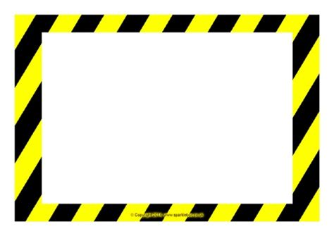 caution sign template editable warning danger sign templates sb10387