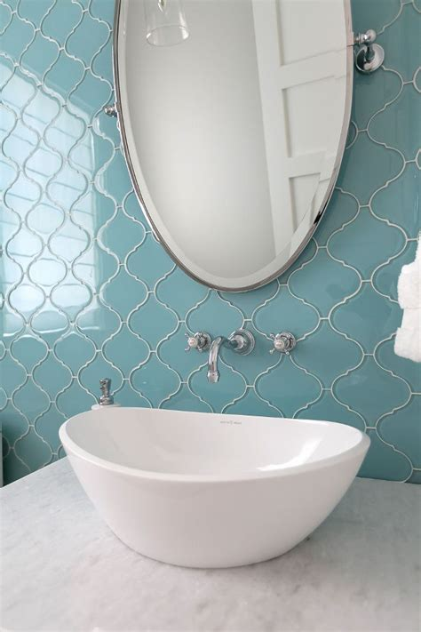Glass Bathroom Tiles Ideas best 25 arabesque tile ideas on pinterest arabesque
