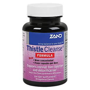 Vitamin Shoppe Herbal Detox by Product Image For Thistle Cleanse 30 Veggie Caps