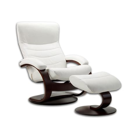 Small Recliner Chair by Fjords Trandal Top Grain Leather Small Recliner Fjords