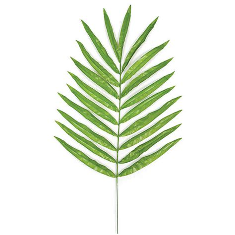 5 ways to decorate with artificial palm leaves