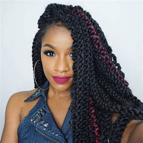 Crochet Twist Hairstyle | 40 crochet twist styles you ll fall in love with