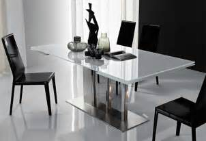 Modern Extendable Dining Table by Plano Extendable Dining Table By Cattelan Italia Modern