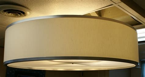 drum shade light fixtures custom 48 inch drum pendant light fixture by jesseleedesigns