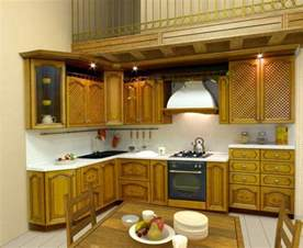 Model Kitchen Cabinets Latest Kerala Model Wooden Kitchen Cabinet Designs Wood