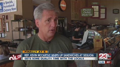 Mccarthy Whips Out The Fendi Again by Rep Kevin Mccarthy Whips Up Sandwiches At Sequoia