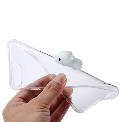 Silicon 3d Animal Cover Soft Tpu Squishy Oppo Neo 9 A37 3d soft squishy animal tpu soft clear back cover