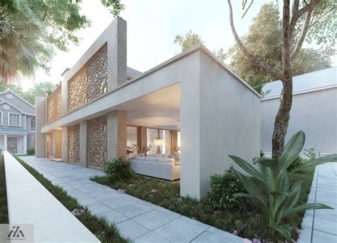 islamic house design arabic modern house by mohamed zakaria design ideas