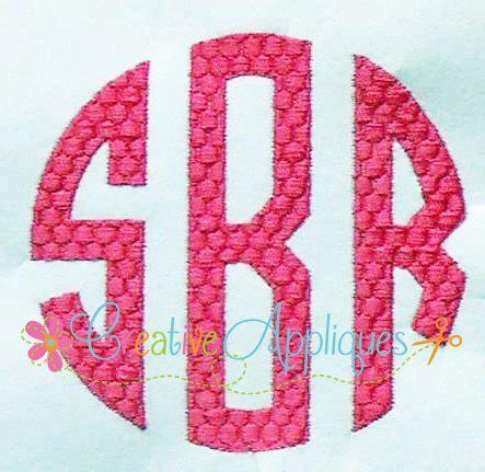 honeycomb pattern font natural circle honeycomb monogram embroidery alphabet font