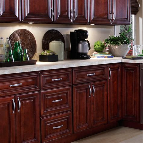 Kitchen Cabinets Mahogany B Jorgsen Co St Mahogany Kitchen Cabinets Traditional Kitchen Cabinetry Detroit