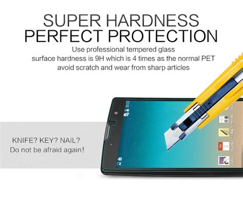 Lg Magna H502f Zen Free Screen Protector nillkin amazing h tempered glass screen protector for lg