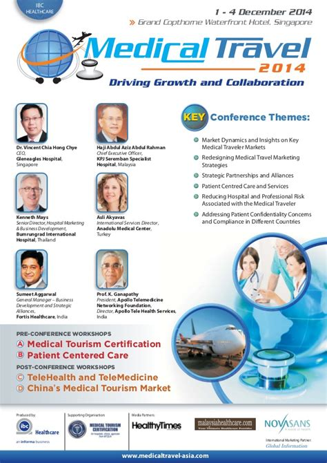 Mba In Hospital Management In Singapore by Travel Conference Agenda In Singapore