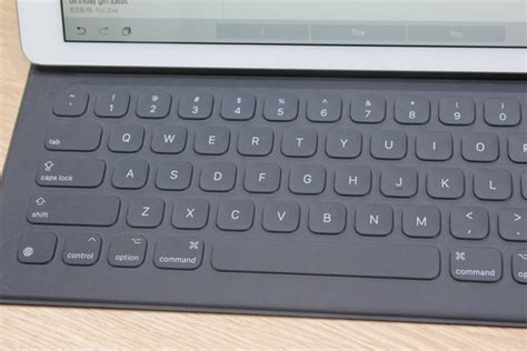Pro Smart Keyboard on with the pro s smart keyboard macworld