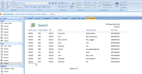 membuat database yang baik langkah langkah membuat database teknik informatika